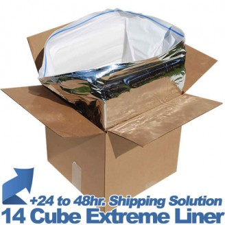 "COOLER, COLDKEEPER 14 CUBE TAPE BAG, 1"" THICK, EACH (16/CS)"