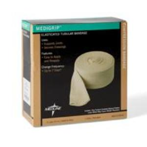 "BANDAGES, MEDIGRIP ELASTOCATED TUBULAR SIZE F 4"", EACH"