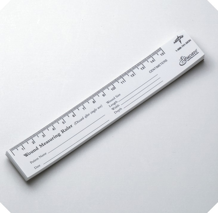 RULER, WOUND PAPER 15CM, 250/PACK