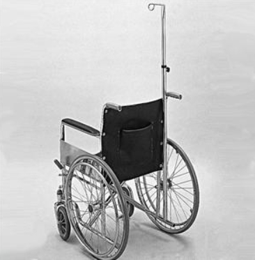 IV POLE FOR WHEELCHAIR, EACH