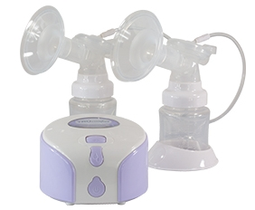 BREAST PUMP, DBL DELUXE ELECTRIC WITH BAG KIT, EACH