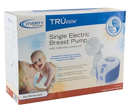 BREAST PUMP, SINGLE ELECTRIC W/ COLLECTION KIT