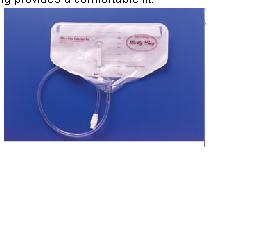 BAG, BELLY DRAINAGE BAG 1000ML, WITH WAIST BELT, ANTI-REFLUX VAL
