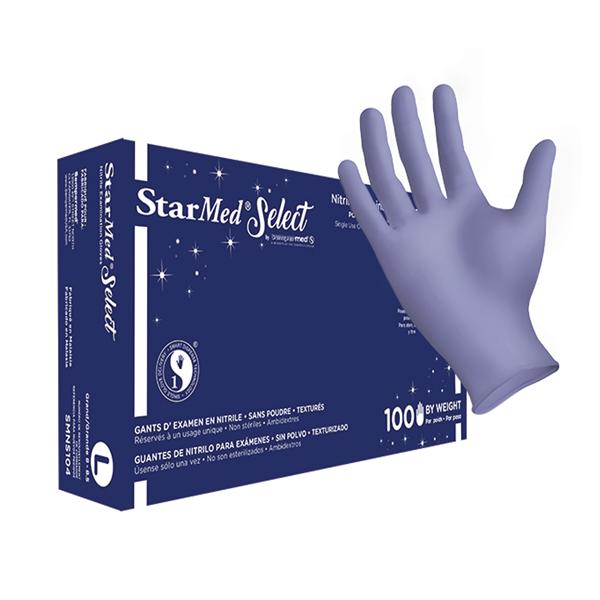 GLOVES, NITRILE LARGE 100/BX