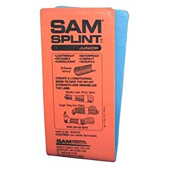 "SPLINT, SAM FLAT 4.25 X 9"" WRIST MOLDABLE GENERAL PURPOSE,  EACH"