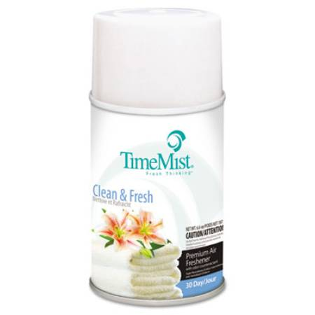 REFILL, TIMEMIST CLEAN N FRESH AEROSOL 6.6OZ, EACH