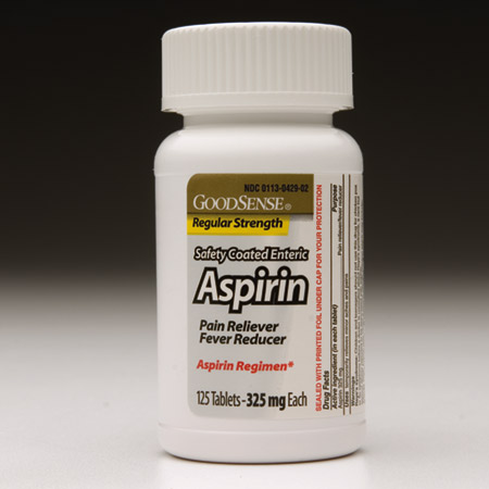 ASPIRIN, COATED, 325MG