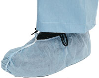 SHOE COVERS, XLARGE (BLUE) 100 PAIRS; 200/CS